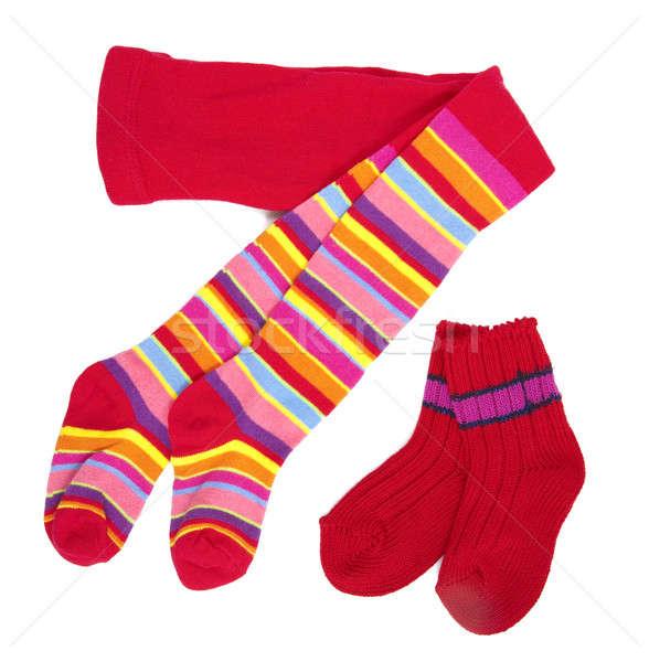 Red socks Stock photo © alexandkz