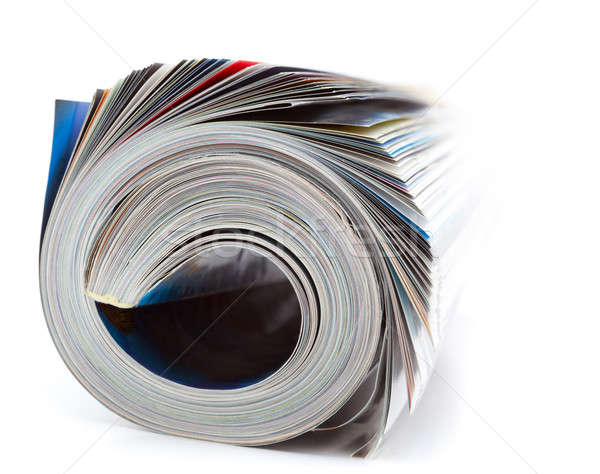 rolled magazine Stock photo © alexandkz