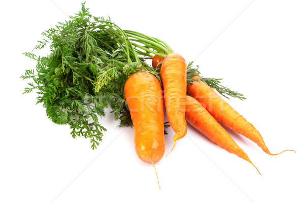 fresh carrots  isolated on white background Stock photo © alexandkz