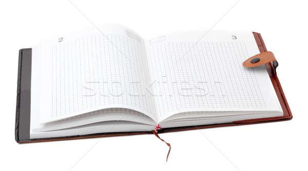 Opened datebook Stock photo © alexandkz