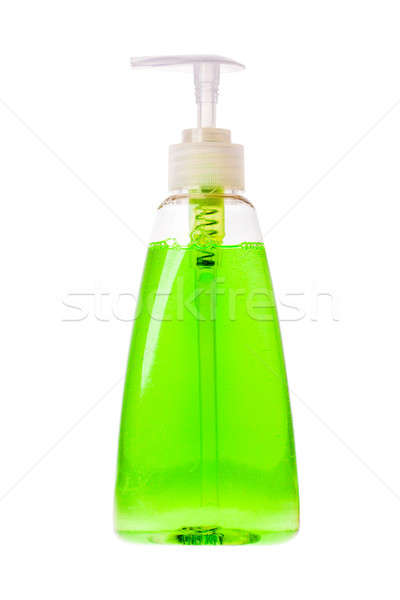Isolated hand sanitizer soap dispenser on white background Stock photo © alexandkz