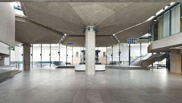 Moderno costruzione pubblico eventi interni Foto d'archivio © alexandre_zveiger
