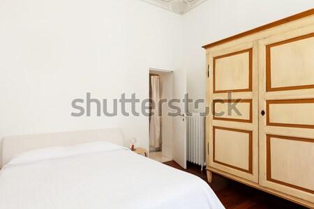 Interieur architectuur appartement hotelkamer verdubbelen Stockfoto © alexandre_zveiger