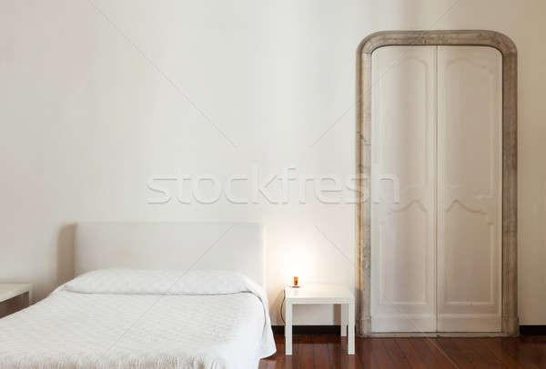 Interieur architectuur appartement mooie hotelkamer Stockfoto © alexandre_zveiger