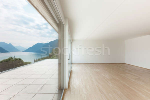 Beautiful penthouse, terrace view Stock photo © alexandre_zveiger