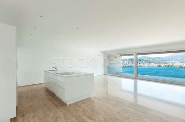 Beautiful penthouse, interior Stock photo © alexandre_zveiger