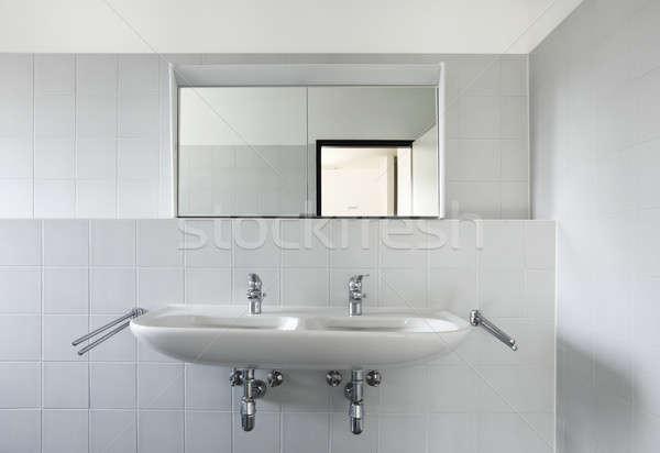 Kortárs ház nem belső modern lakás Stock fotó © alexandre_zveiger