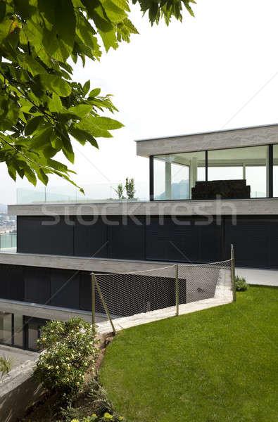 Edifício moderno belo moderno casa ver Foto stock © alexandre_zveiger
