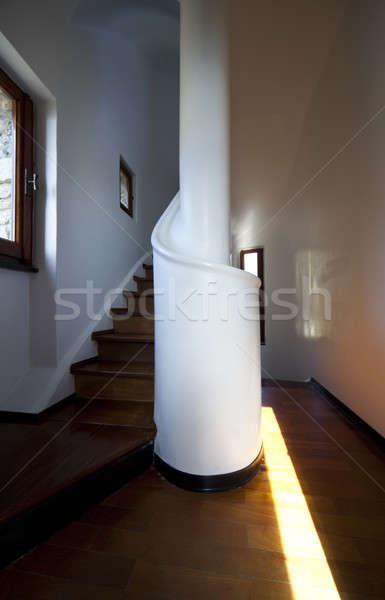 Passaggio scala casa home Foto d'archivio © alexandre_zveiger