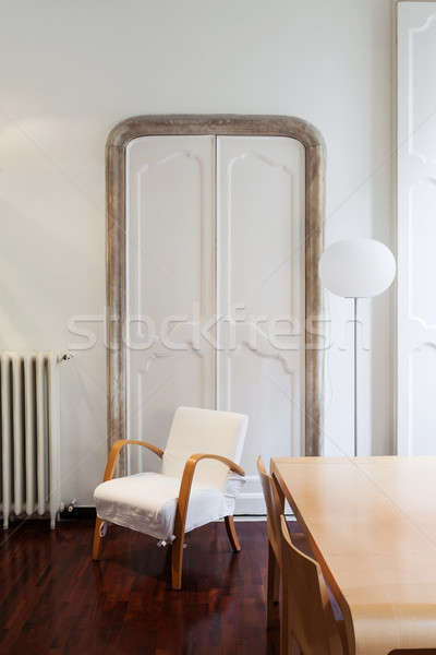 Interieur architectuur appartement mooie hotelkamer detail Stockfoto © alexandre_zveiger