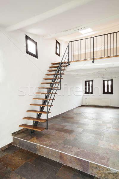 Intérieur rustique maison maison chambre Photo stock © alexandre_zveiger