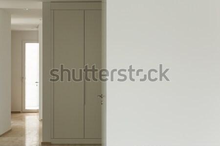Moderna casa pasaje vista interior espacio Foto stock © alexandre_zveiger