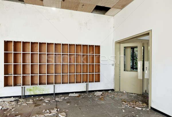 捨てられた 家 アーキテクチャ 古い ホテル 壁 ストックフォト © alexandre_zveiger