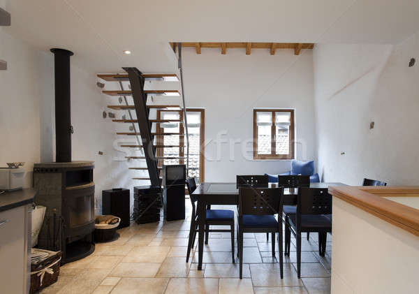 interior of modern house Stock photo © alexandre_zveiger