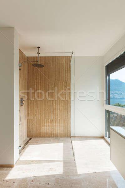 modern bathroom, shower Stock photo © alexandre_zveiger