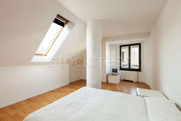 Intérieur architecture appartement nouvelle grenier Photo stock © alexandre_zveiger