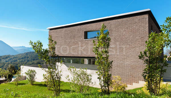 Architecture modern design, house Stock photo © alexandre_zveiger