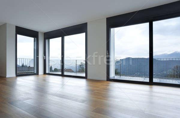 Projeto casa interior moderno quarto vazio Foto stock © alexandre_zveiger