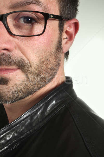 Photo studio homme portrait homme blanc barbe Photo stock © alexandre_zveiger
