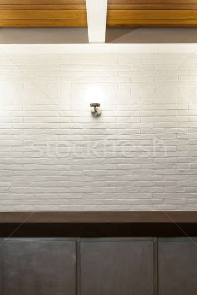 Stock photo: Interior, detail kitchen