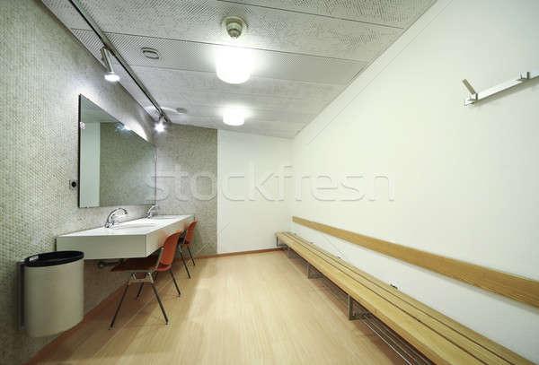 Vestidor ordenado elegante edificio negocios interior Foto stock © alexandre_zveiger