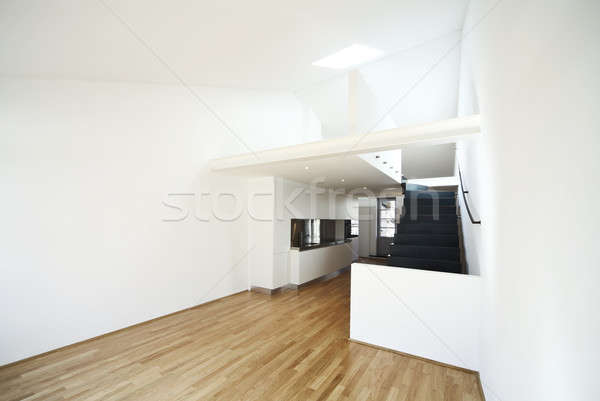 modern apartment, design loft Stock photo © alexandre_zveiger