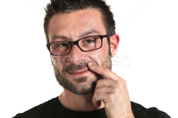 Сток-фото: фото · студию · человека · портрет · борода