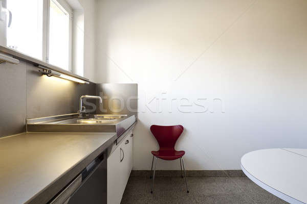 интерьер классический современный мебель кухня Сток-фото © alexandre_zveiger