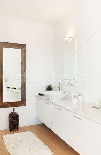 Interior moderna casa Villa vista bano Foto stock © alexandre_zveiger