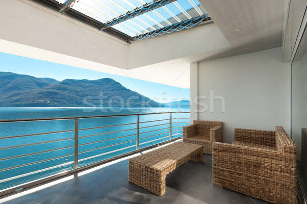 beautiful veranda of a penthouse Stock photo © alexandre_zveiger