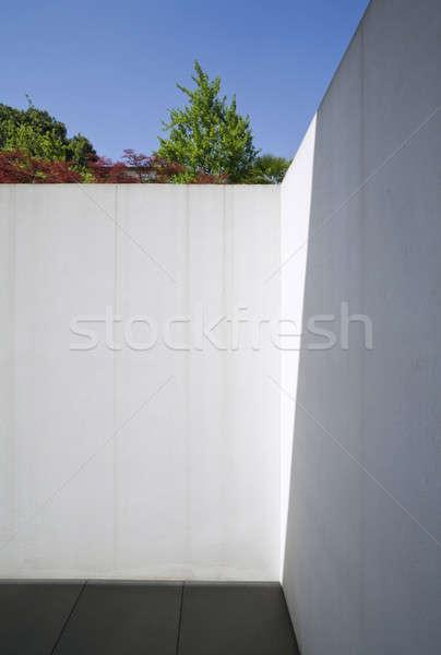 Detail of modern beton house Stock photo © alexandre_zveiger