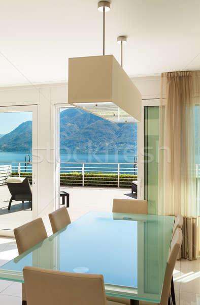 Interior, modern apartmen Stock photo © alexandre_zveiger