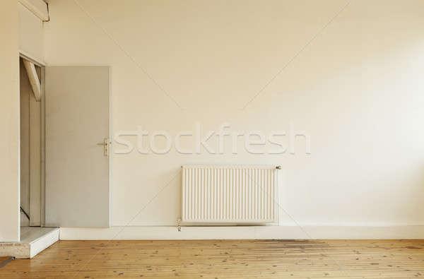 古い ロフト インテリア 広い 階 ドア ストックフォト © alexandre_zveiger