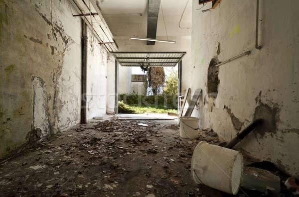 abandoned house, architecture Stock photo © alexandre_zveiger
