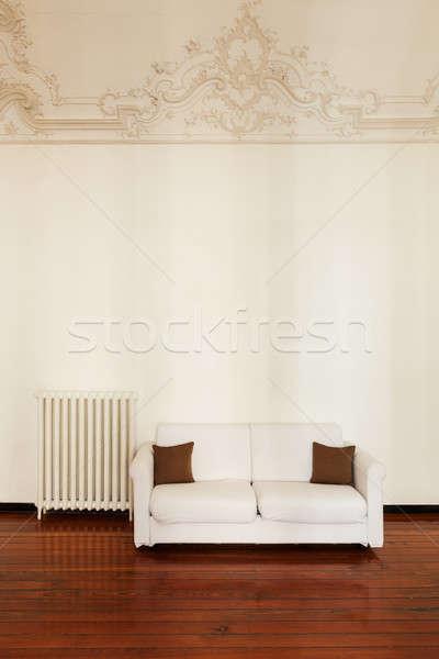 интерьер архитектура квартиру домой удобный белый Сток-фото © alexandre_zveiger