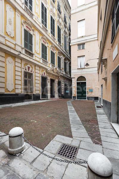 Courtyard of Genova, Italy Stock photo © alexandre_zveiger