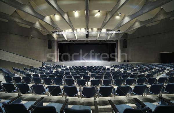 Interior conferência ouvir congresso palácio público Foto stock © alexandre_zveiger