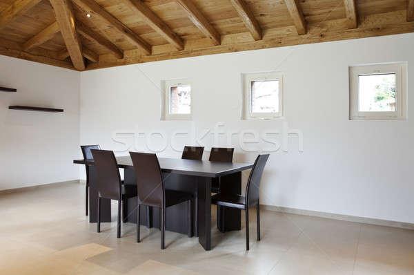 Nouvelle maison grenier villa modernes appartement Photo stock © alexandre_zveiger