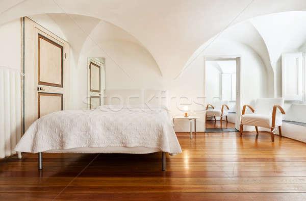 Interior arquitetura apartamento belo hotel dobrar Foto stock © alexandre_zveiger