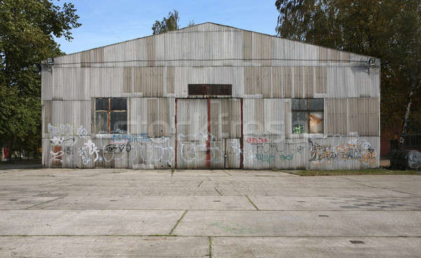 old abandoned architecture with murals  Stock photo © alexandre_zveiger