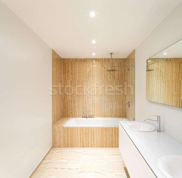 modern bathroom Stock photo © alexandre_zveiger