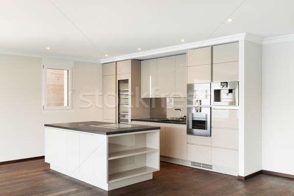 красивой дома современных кухне пентхауз мнение Сток-фото © alexandre_zveiger