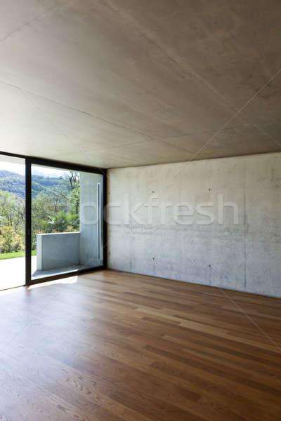 Moderna concretas casa detalle Foto stock © alexandre_zveiger
