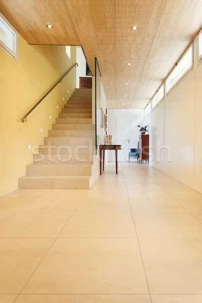 интерьер дома проход мнение горные Современная архитектура Сток-фото © alexandre_zveiger