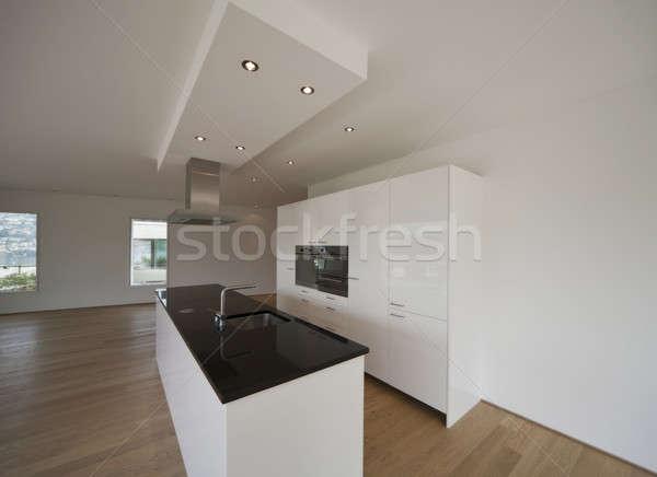 キッチンのインテリア 現代 キッチン デザイン ホーム ルーム ストックフォト © alexandre_zveiger