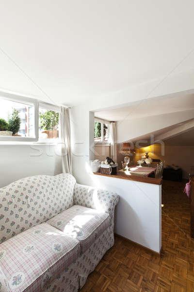 interior beautiful apartment Stock photo © alexandre_zveiger