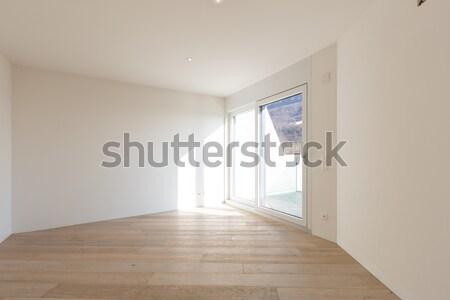 Modern ház átjáró kilátás belső űr Stock fotó © alexandre_zveiger