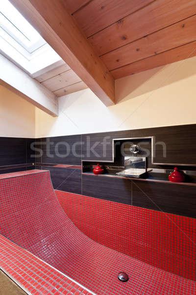 Interni bagno nuovo bagno Foto d'archivio © alexandre_zveiger