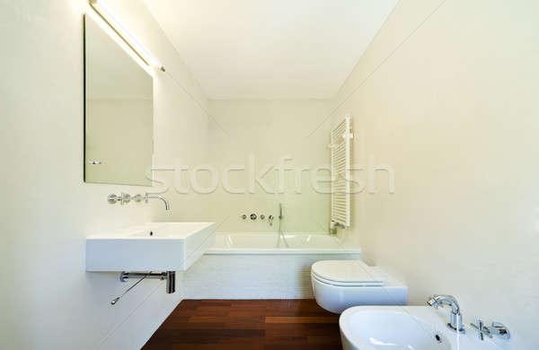 Interni stile moderno villa moderno casa natura Foto d'archivio © alexandre_zveiger