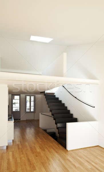 現代 アパート デザイン ロフト アーキテクチャ キッチン ストックフォト © alexandre_zveiger